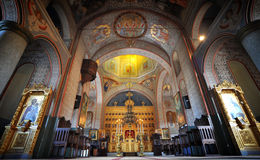Romanian monastery. A romanian monastery in Tulcea Royalty Free Stock Images
