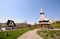 Romanian Monastery Royalty Free Stock Photo