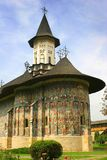 Romanian monastery. Very old Romanian Monastery from Moldavia Stock Images