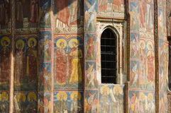 Romanian monastery Royalty Free Stock Images