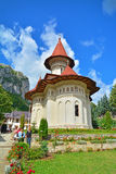 Romanian monastery. Ramet, Romania - August 17, 2014: The Ramet Monastery in Romania. Shot taken on August 17th, 2014 Stock Images