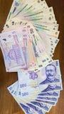 Romanian money Stock Image