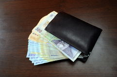 Romanian money Stock Images