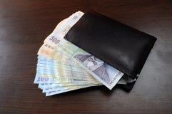 Romanian money Stock Photo