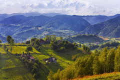 Romanian mountain landscape Stock Images