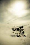 Romanian Mountain winter landscape Royalty Free Stock Photo
