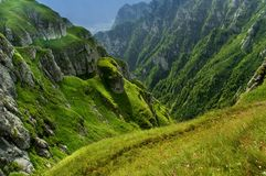 Romanian mountains stock images