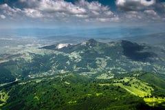 Romanian mountains Stock Image