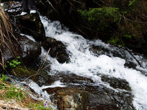 Romanian Mountains River Landscape Royalty Free Stock Photo