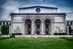 Romanian National Opera Facade Royalty Free Stock Photography