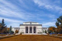 Romanian National Opera facade. Royalty Free Stock Image