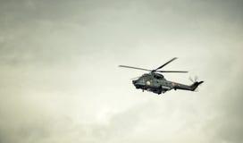 Romanian Navi IAR 330 helicopter Stock Photography
