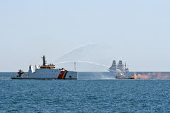 Romanian navy celebrations Royalty Free Stock Photo