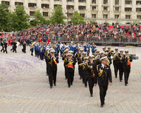 Romanian Navy Military Band Music Stock Images