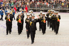 Romanian Navy Military Band Music Royalty Free Stock Photo