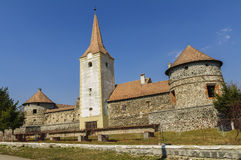 Romanian Old Castle Stock Photo