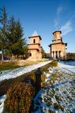Romanian orthodox church Stock Photos