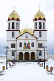 Romanian orthodox church Stock Photo