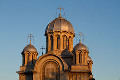Romanian Orthodox church Stock Photos