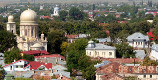 Romanian orthodox church royalty free stock photo