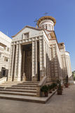 The Romanian Orthodox Church of Nativity of the Virgin in Jericho Royalty Free Stock Photos