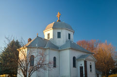 Romanian Orthodox Church in South Saint Paul. Minnesota stock image