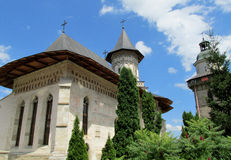 Romanian Orthodox church in Suceava Stock Image