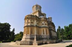 Romanian Orthodox Monastery Stock Photo