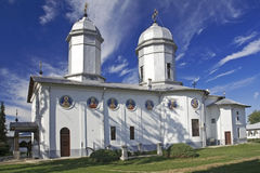 Romanian Orthodox Monastery royalty free stock photo