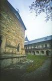 Romanian orthodox monastery Royalty Free Stock Photo