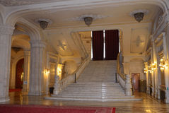Romanian parliament Stock Image