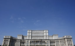 The Romanian Parliament building Royalty Free Stock Images