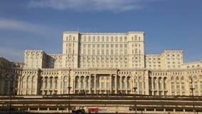 Romanian Parliament (Casa Poporului) stock video