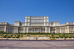 Romanian Parliament Royalty Free Stock Photos