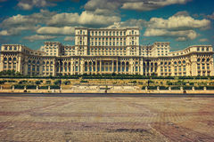 Romanian Parliament Royalty Free Stock Images