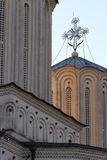 Romanian Patriarchal Cathedral architecture detail Stock Photo