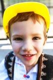 Romanian Peasant Child Stock Photography