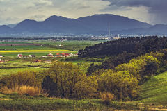 Romanian picturesque scenery Stock Photography