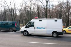 Romanian police van Royalty Free Stock Images