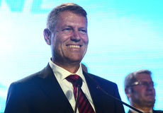 Romanian politician Klaus Iohannis Royalty Free Stock Image