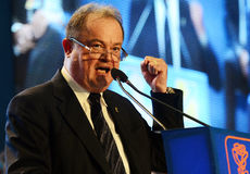 Romanian politician Vasile Blaga Stock Images