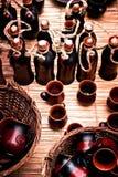 Romanian Pottery Royalty Free Stock Photography