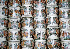 Romanian pottery Stock Images