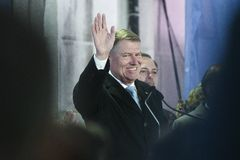 Free Romanian President Klaus Iohannis Won Presidential Elections Royalty Free Stock Images - 164855929