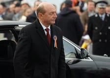 Romanian president Traian Basescu Stock Image
