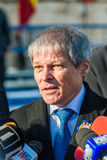 Romanian Prime Minister Dacian Ciolos Stock Images