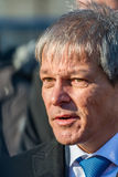 Romanian Prime Minister Dacian Ciolos Royalty Free Stock Photos