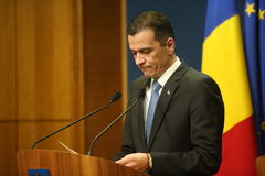 Romanian Prime Minister Sorin Grindeanu Royalty Free Stock Image