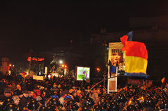 Romanian Protest 19/01/2012 - 8 Royalty Free Stock Photo