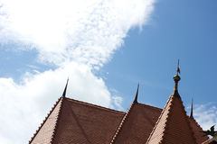 Romanian roofs Royalty Free Stock Images